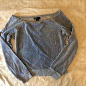 Express Sweater suede blue size M